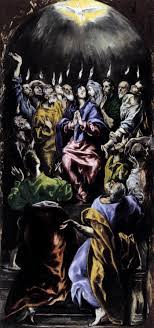 pentecost by el greco i ve been looking at these old painting of the day of pentecost and i don t imagine it anything like this
