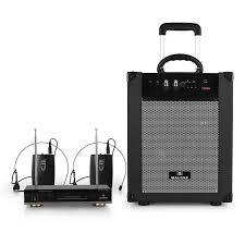 sound system wireless: image is loading auna malone portable bluetooth pa sound system wireless