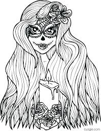 Hair Coloring Pages Hair Coloring Pages Free Hair Coloring Page Hair