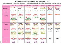 insanity meal plan guide naijaevents org