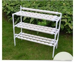 hydroponics garden. DIY Outdoor Hydroponics Garden Center 90 Pot 3 Layers Pipes Equipment Balcony Family Vegetable Box/bowl/aircraft/machine