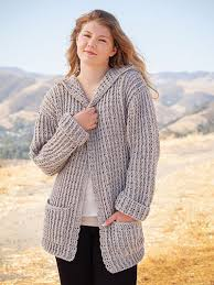 Crochet Cardigan Pattern New ANNIE'S SIGNATURE DESIGNS Hoodie Cardigan Crochet Pattern
