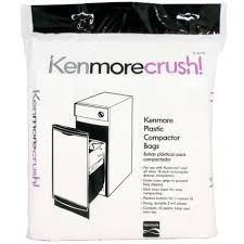 How Does A Trash Compactor Work Kenmore 13370 Plastic Trash Compactor Bags 10 Count
