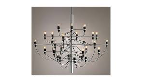 gino sarfatti model 2097 30 chandelier