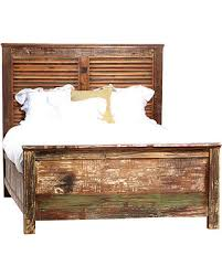 Great Deal on Nantucket Reclaimed Wood Bed, Cal King