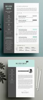 50 Best Resume Templates For 2018 25 Print Ready Designs