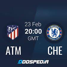 Атлетико Мадрид - Челси   Смотреть онлайн + Коеффициенты, Новости и  Статистика