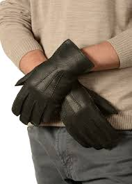 mens peccary leather gloves