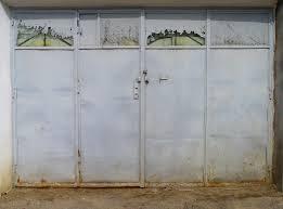 metal door texture. Rusted Garage Metal Door Texture I