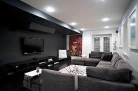 modern living room furniture black. gorgeous minimal room in black, white and grey modern living furniture black p