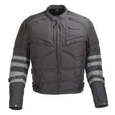 men motorcycle textile armored jacket with removable sleeves