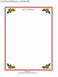 Christmas Letterhead Template Christmas Letterhead Rh Odium Com