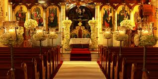 Of Wedding Decorations In Church Church Wedding Decor Wedding Venues Ideas Pinterest Studios
