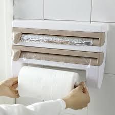 kitchen paper towel holder hanger tissue roll storage rack bathroom toilet sink door hanging organizer under