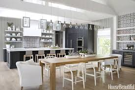 Modern kitchens Stainless Steel Definitive Proof That Modern Kitchens Dont Have To Feel Sparse And Stark House Beautiful 10 Best Modern Kitchen Design Ideas 2019 Modern Kitchen Decor