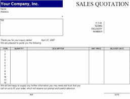 Microsoft Word Quote Templates Are You Looking For Sale Quotation Templates In Excel Format Or Word