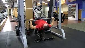Smith Machine Bench Press U2022 Bodybuilding WizardSmith Bench Press Bar Weight