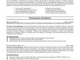 Assistant Property Manager Resume Leasing Job Descri Sevte