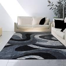 contemporary area rugs grey