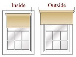 How To Measure For Roller And Solar Shades At The Home DepotHanging Blinds Above Window