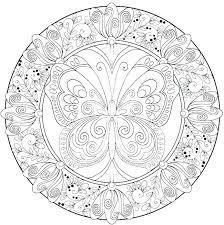 Mandala Coloring Pages Pdf Geometric Mandala Coloring Pages To Print