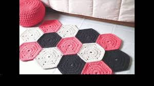 Free Crochet Rug Patterns Magnificent Easy Crochet Rug Free Patterns YouTube