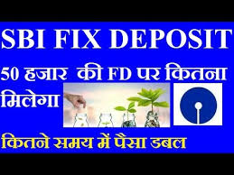Sbi Fd Plan Chart Sbi Fix Deposit Plan Sbi Fd Interest Rate 2019 Hindi Fd Calculator Sbi