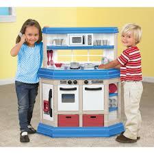 Kids Kitchen Qaba Country Cottage Kids Kitchen Playset White Pink Walmartcom