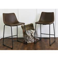 faux leather bar stools. Faux Leather Counter Stools 32\ Bar