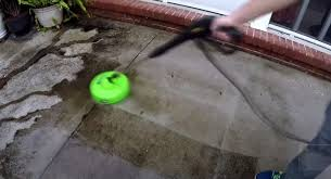 how to clean existing concrete patio