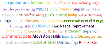 Words For Employee Evaluation Why Words Matter In Employee Evaluation Systems Trakstar