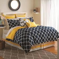 jill rosenwald hampton links navy lemon bed set