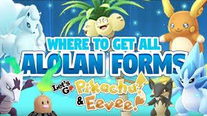 SHINY ALOLAN POKEMON! ALL ALOLAN TRADES in Pokemon Let's Go Pikachu and  Eevee! - YouTube
