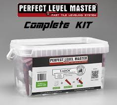 t lock perfect level master kit tile leveling system wall floor spacers