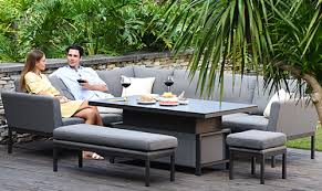 outdoor fabric garden furniture maze