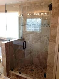 half wall glass shower partition pony bathroom stylish designs fascinating design knee