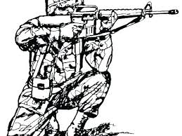 Military Coloring Sheets G5080 Soldier Coloring Military