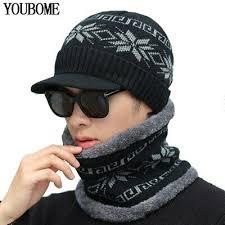 Youbome Skullies шапочки зимняя <b>шапка</b> шапочки для мужчин ...