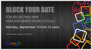 Google Sends Event Invites Out To Indian Press Must Be