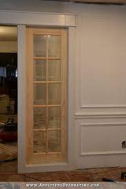 stationary built in french door room separating panels 17