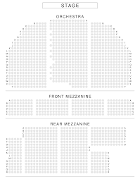 Broadway Theatre Seating Chart View From Seat New York