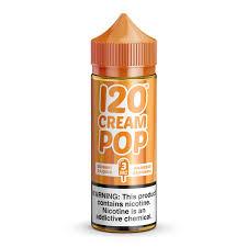 120 cream pop mad hatter juice e juice