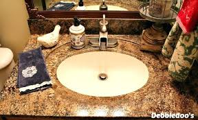 how to paint bathroom countertop painting bathroom painted using granite paint kit photos can you spray