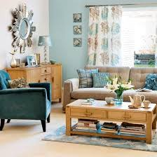 light brown and seafoam green living room - Google Search PRETTY BLUE (may  be too