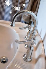 keep your faucets shiny and free from water spots for longer with this little trick