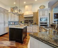 painted kitchen cabinet ideas fresh f white cabinets with a dark wood kitchen island omega of
