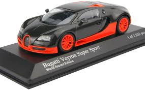 Even the logos will be defined in black. Amazon Com Minichamps 2010 Bugatti Veyron Super Sport In Carbon And Orange World Record Car Toys Games
