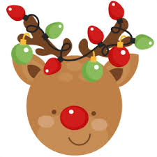 reindeer christmas clipart. Perfect Clipart Reindeer Christmas SVG Scrapbook Cut File Cute Clipart Files For Silhouette  Cricut Pazzles Free Svgs Svg Cuts On Clipart