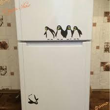 OOPSIES! Penguin overboard! New Design funny kitchen fridge ...
