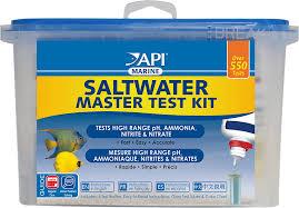 Api Saltwater Aquarium Master Test Kit 550 Count
